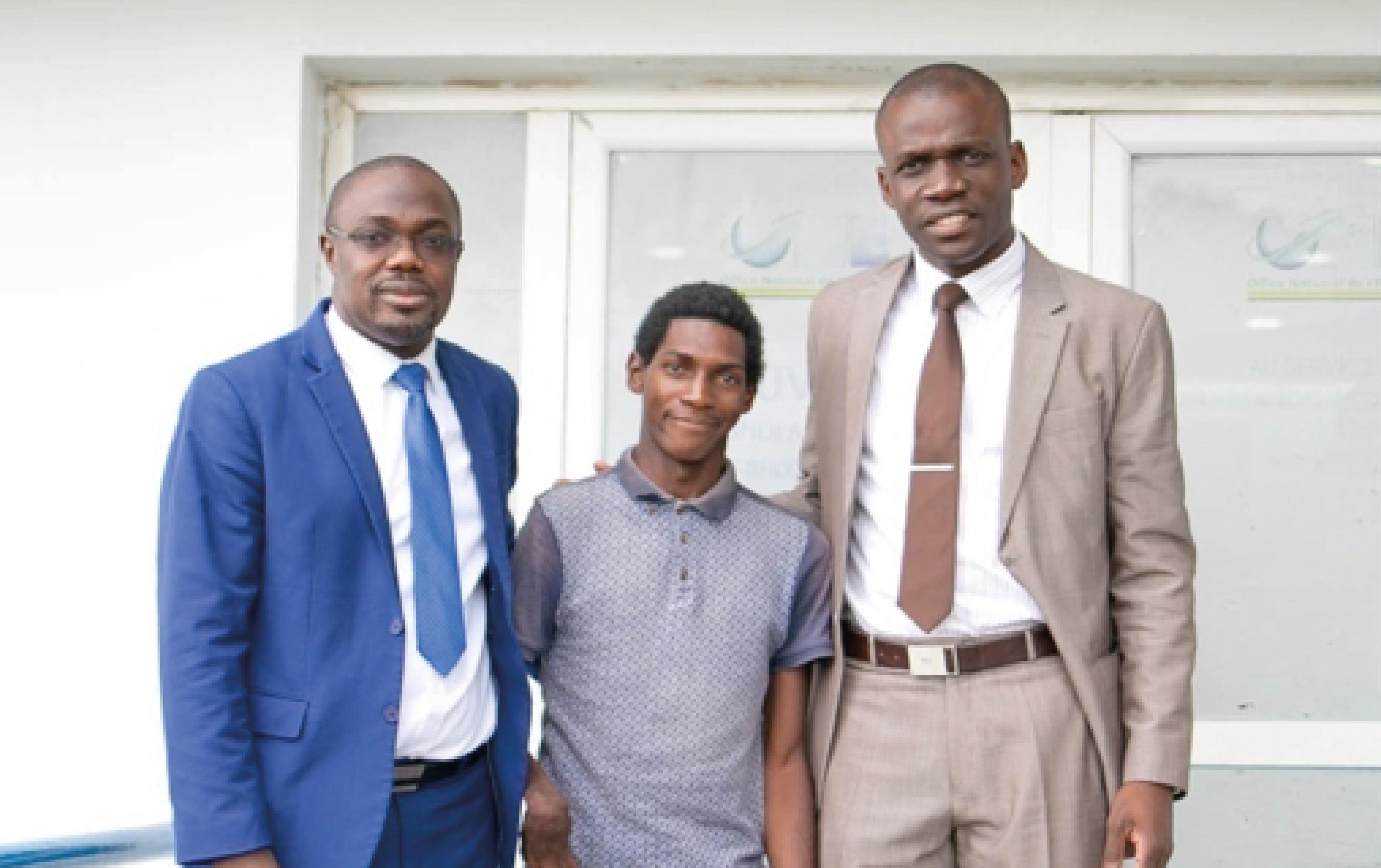 Le Fonds ONE - ENTREPRENDRE répond à l'appel lancé via les réseaux sociaux par le Jeune BONGO Faucuche