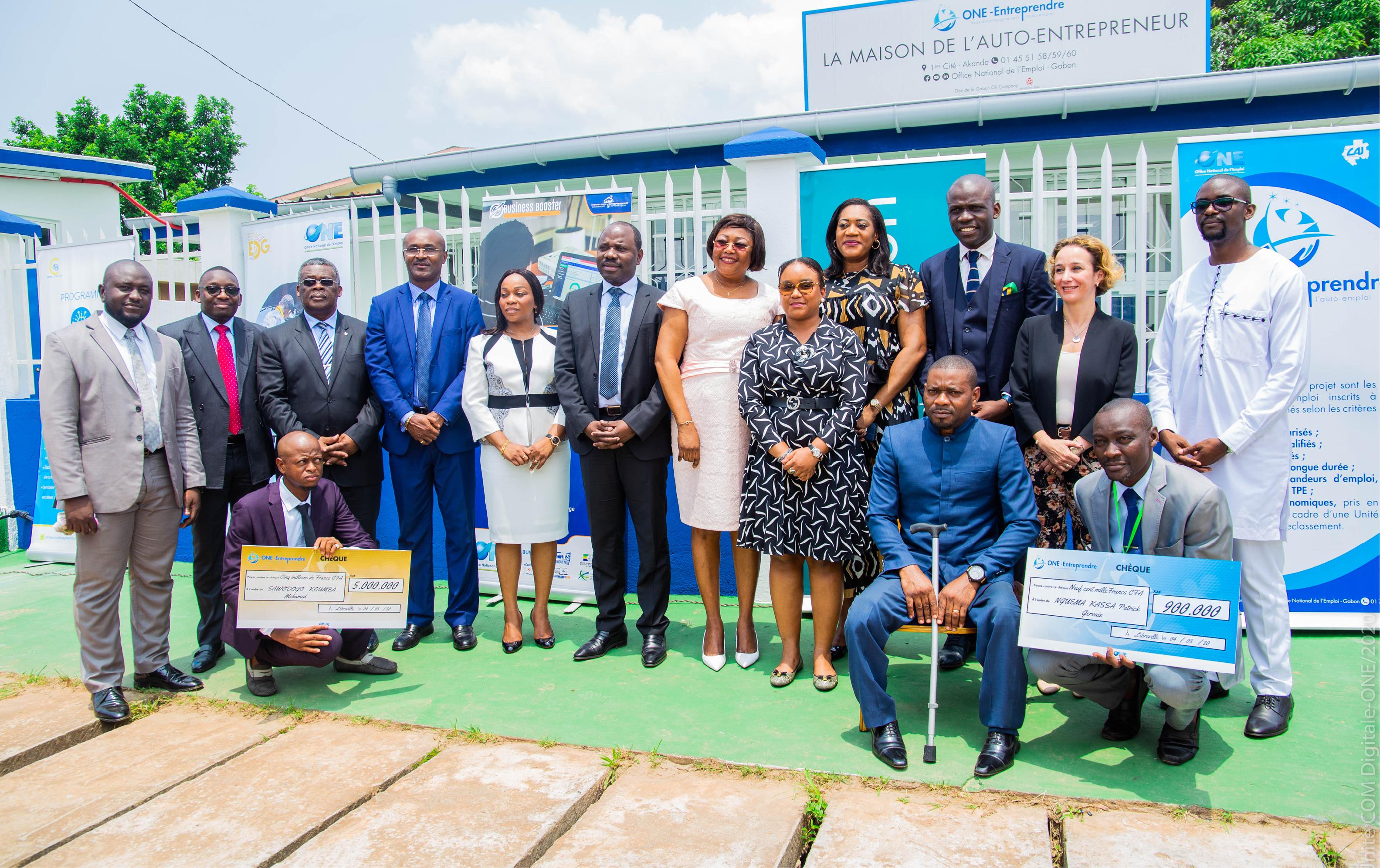 La Maison de l'Auto-Entrepreneur inaugurée par le Ministre des PME/PMI